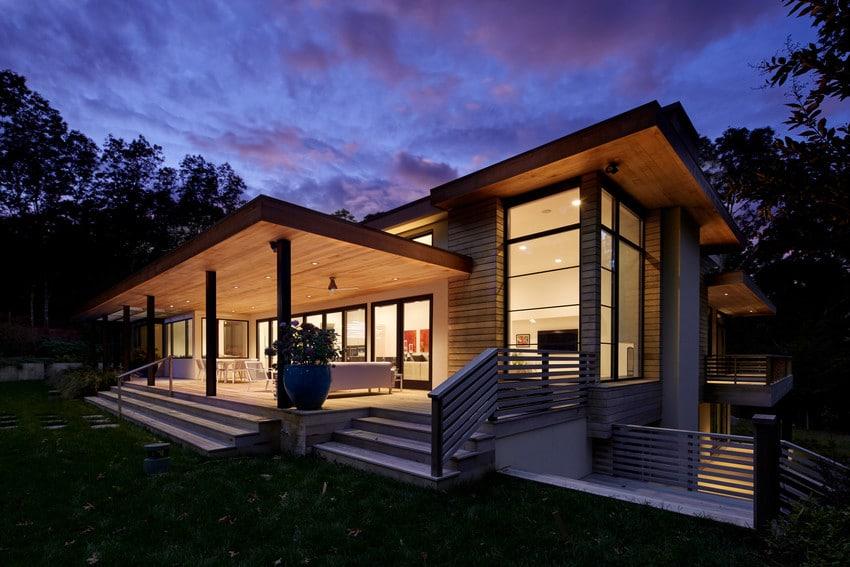 חלונות עץ אלומיניום - אנדרסן חלונות ודלתות