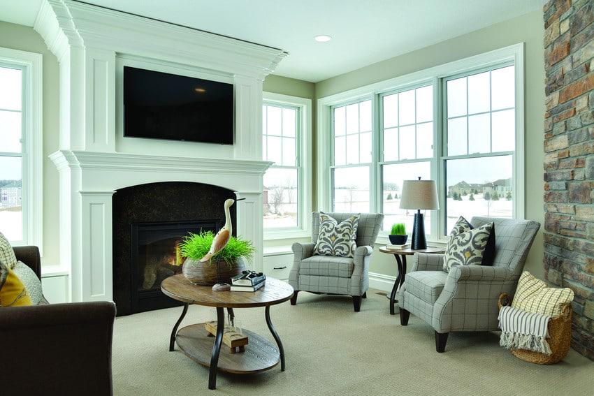 חלונות גליוטינה מסדרה 400 של חברת אנדרסן המומחים ביצור והתקנה של חלונות גליוטינה ודלתות כניסה לבית