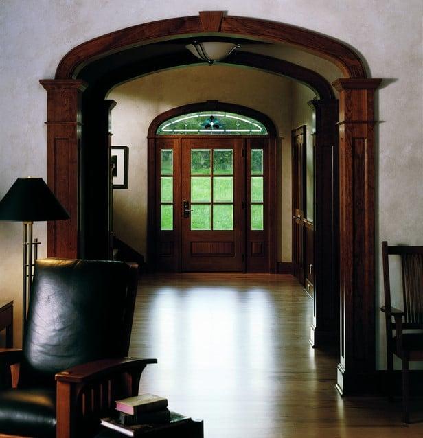 דלתות חוץ מעוצבות של חברת אנדרסן המומחים בייצור והתקנה של חלונות מעוצבים ודלתות כניסה מעוצבות