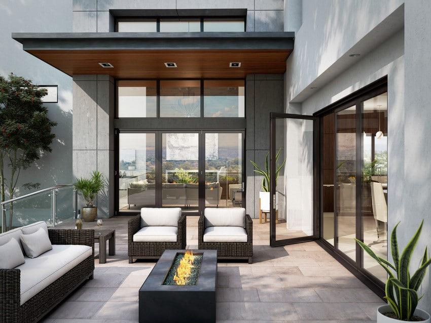 דלתות אלומיניום במגוון צבעים ועיצובים - Andersen מומחים בייצור חלונות אלומיניום ודלתות כניסה מעוצבות