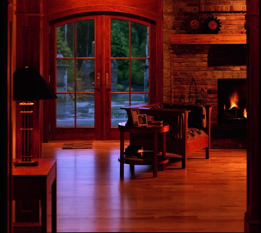 דלת יציאה למרפסת במגוון צבעים ועיצובים - Andersen מומחים בייצור חלונות מעוצבים ודלתות כניסה לבית