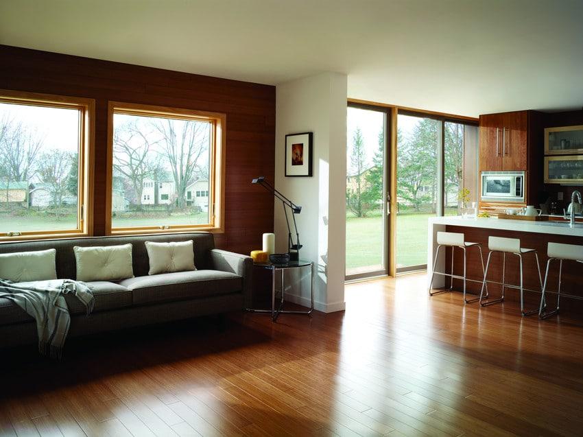 חלונות מבודדים מסדרה 400 של חברת אנדרסן חלונות לבית ודלתות חוץ