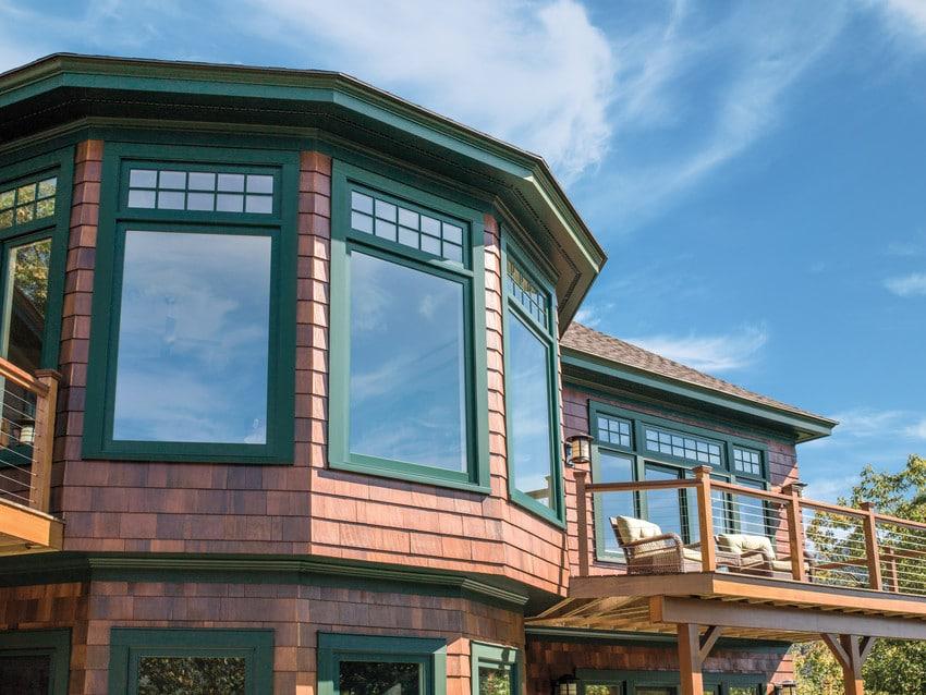 חלונות מבודדים מסדרה A של חברת אנדרסן חלונות לבית ודלתות חוץ