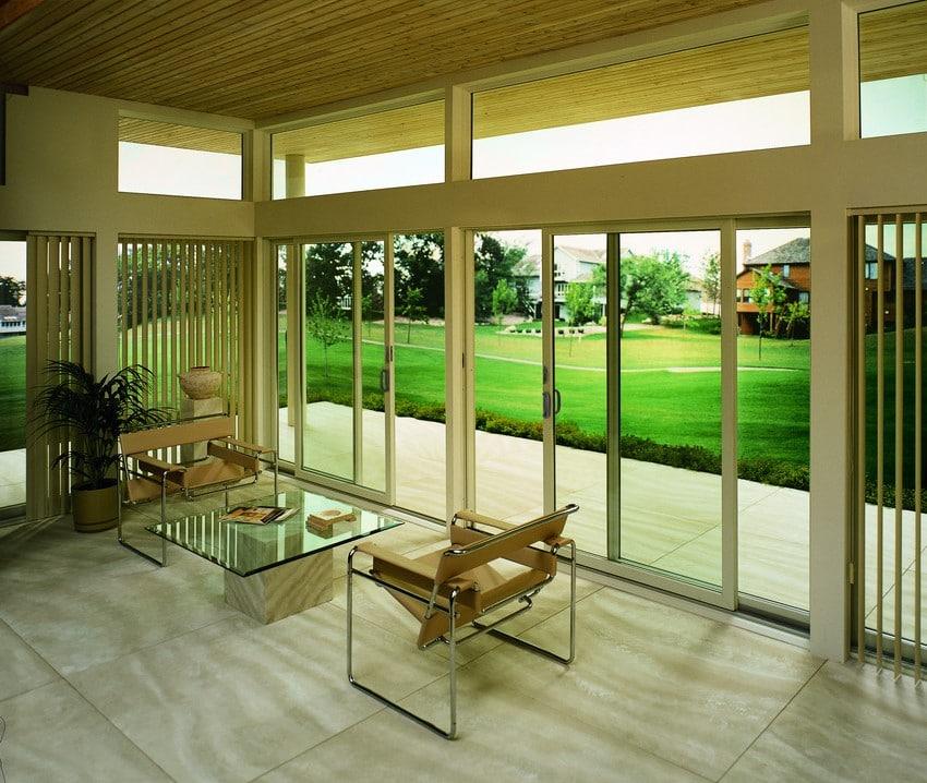 דלתות עץ מסדרה 200 של חברת אנדרסן המומחים ביצור והתקנה של דלתות עץ וחלונות מעוצבים