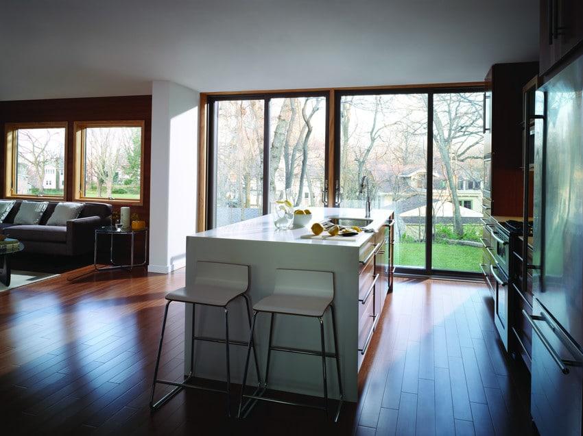 חלון ויטרינה לסלון - Andersen Windows