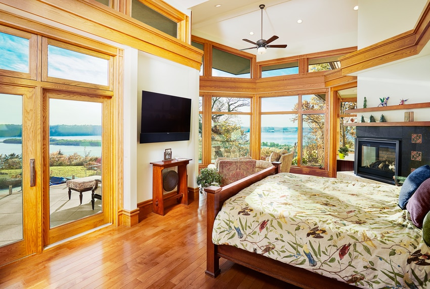 חלונות עץ של חברת Andersen המומחים בייצור חלונות לבית ודלתות כניסה מעוצבות