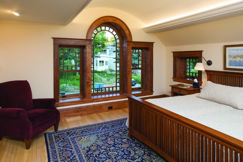 חלונות עץ של חברת אנדרסן המומחים בייצור חלונות לבית ודלתות כניסה מעוצבות