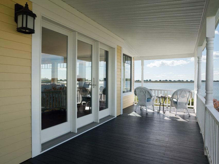 חלונות עץ עם חיפוי חיצוני - אנדרסן חלונות ודלתות