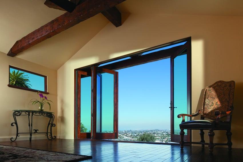 דלתות זכוכית של חברת Andersen Windows