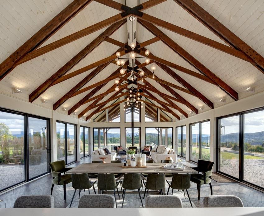 חלון ויטרינה לסלון מחיר, Andersen מומחים בייצור חלונות מעוצבים ודלתות מעוצבות